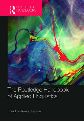 The Routledge Handbook of Applied Linguistics book cover