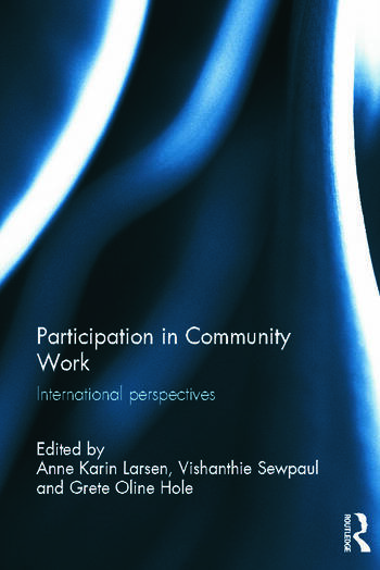 Participation in Community Work International Perspectives book cover