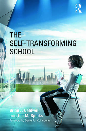 The Self-Transforming School book cover