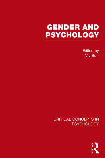Gender and Psychology book cover
