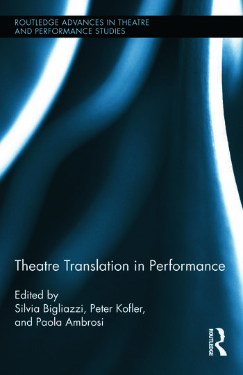 Theatre Translation in Performance book cover