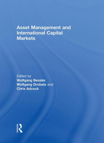 Asset Management and International Capital Markets book cover