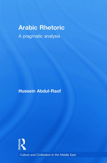 Arabic Rhetoric A Pragmatic Analysis book cover