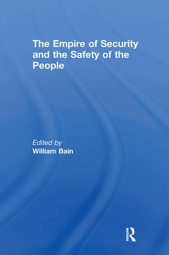 The Empire of Security and the Safety of the People book cover