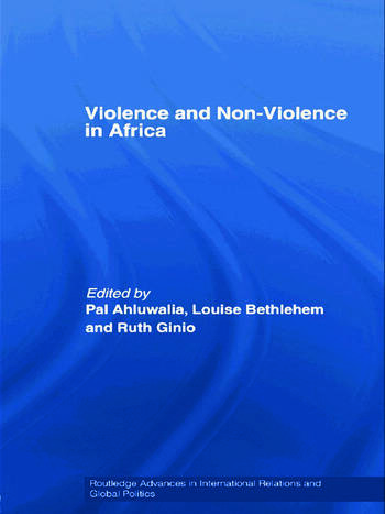 Violence and Non-Violence in Africa book cover