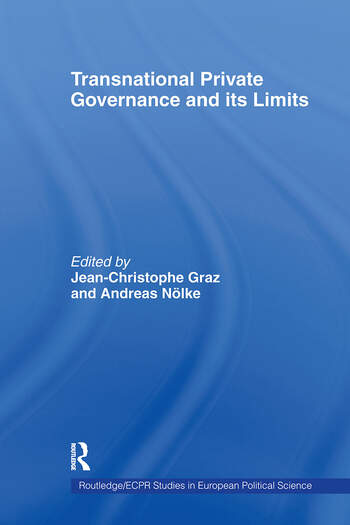 Transnational Private Governance and its Limits book cover