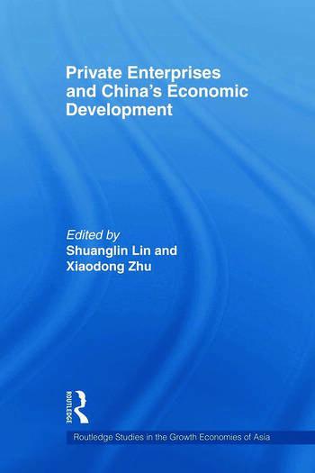 Private Enterprises and China's Economic Development book cover
