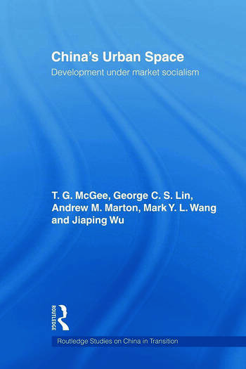 China's Urban Space Development under market socialism book cover