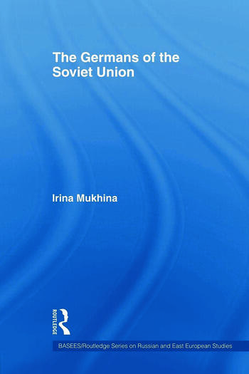 The Germans of the Soviet Union book cover