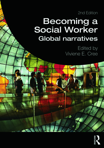 Becoming a Social Worker Global Narratives book cover