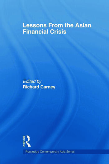 Lessons from the Asian Financial Crisis book cover