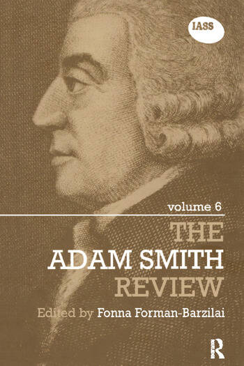 The Adam Smith Review Volume 6 book cover