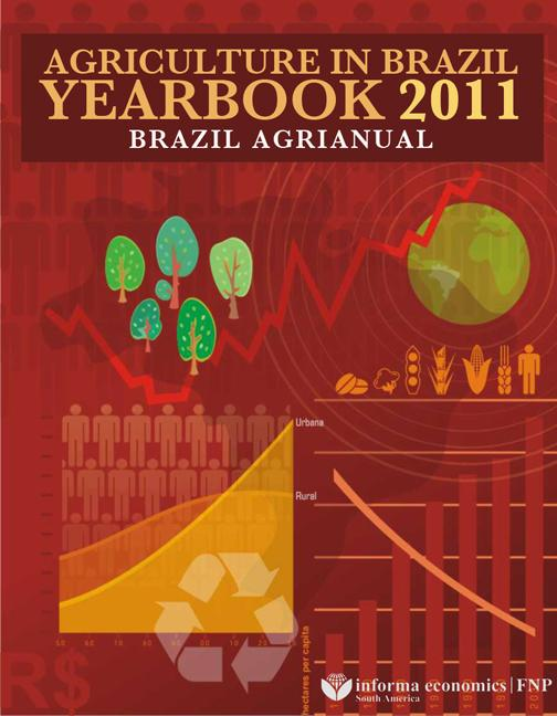 Agriculture in Brazil Yearbook 2011 Brazil Agrianual book cover