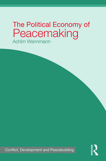 The Political Economy of Peacemaking book cover
