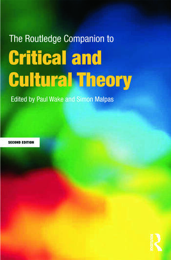 The Routledge Companion to Critical and Cultural Theory book cover
