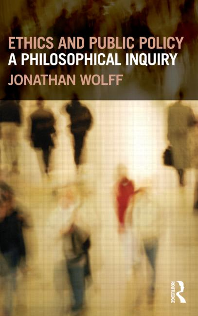 Ethics and Public Policy A Philosophical Inquiry book cover
