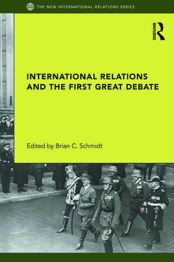 International Relations and the First Great Debate book cover