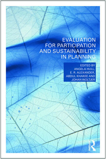 Evaluation for Participation and Sustainability in Planning book cover
