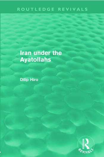 Iran Under the Ayatollahs (Routledge Revivals) book cover