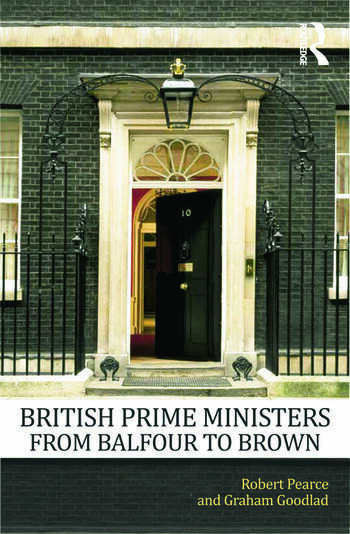 British Prime Ministers From Balfour to Brown book cover