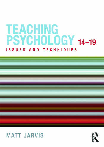 Teaching Psychology 14-19 Issues and Techniques book cover