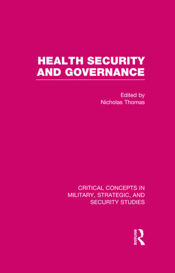 Health Security and Governance book cover