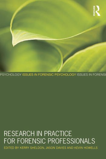 Research in Practice for Forensic Professionals book cover