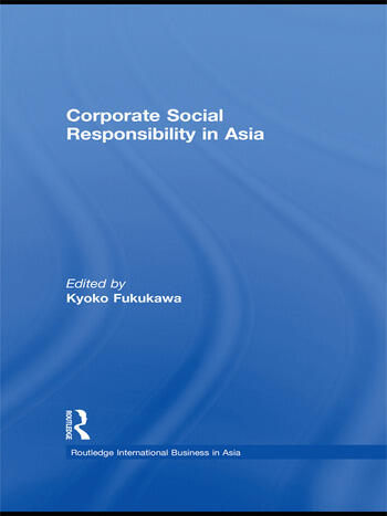 Corporate Social Responsibility in Asia book cover