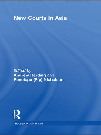New Courts in Asia book cover