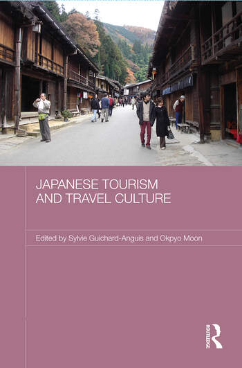 Japanese Tourism and Travel Culture book cover