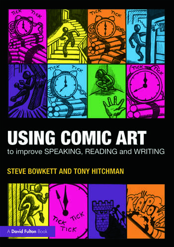 Using Comic Art to Improve Speaking, Reading and Writing book cover