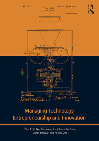 Managing Technology Entrepreneurship and Innovation book cover