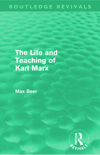 an introduction to karl marxs and max webers ideas on the changes in society
