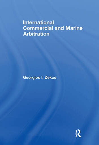 International Commercial and Marine Arbitration book cover