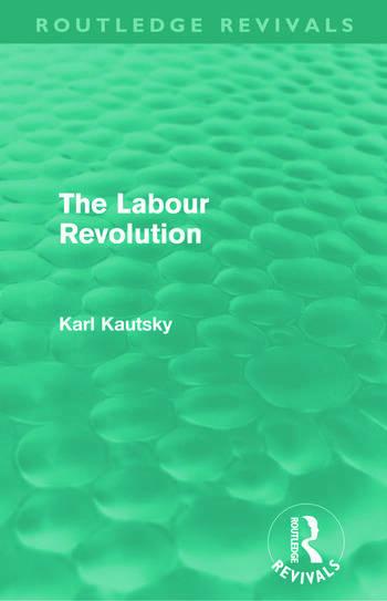 The Labour Revolution (Routledge Revivals) book cover