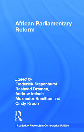 African Parliamentary Reform book cover