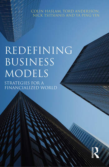 Redefining Business Models Strategies for a Financialized World book cover