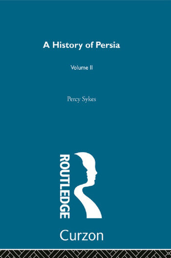 A History Of Persia (Volume 2) book cover