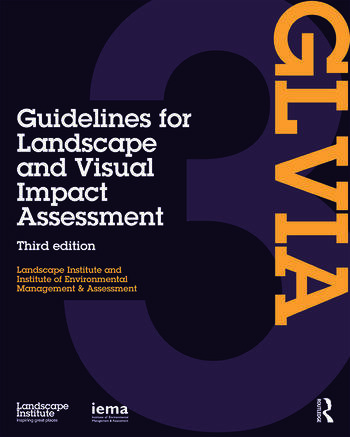Guidelines for Landscape and Visual Impact Assessment book cover