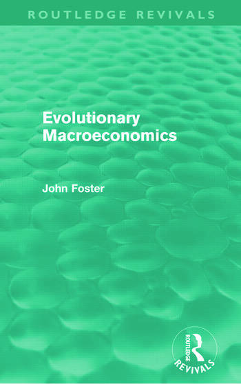 Evolutionary Macroeconomics (Routledge Revivals) book cover
