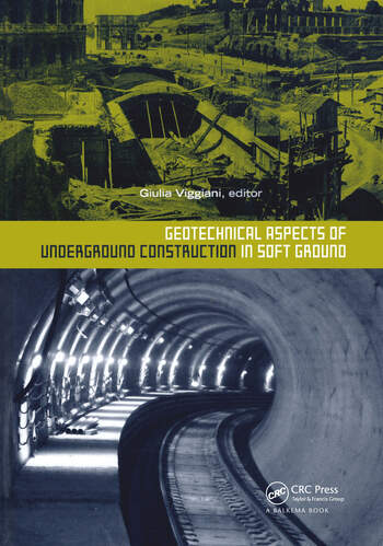Geotechnical Aspects of Underground Construction in Soft Ground book cover