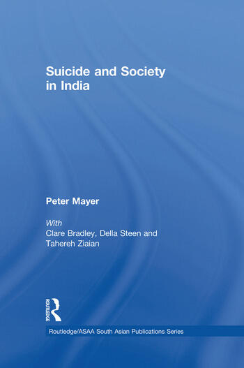 Suicide and Society in India book cover