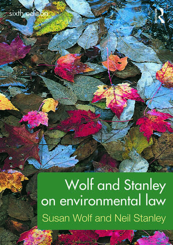 Wolf and Stanley on Environmental Law book cover