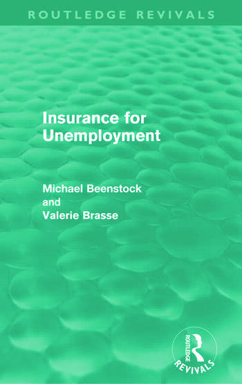 Insurance for Unemployment (Routledge Revivals) book cover