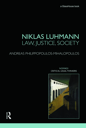 Niklas Luhmann: Law, Justice, Society book cover