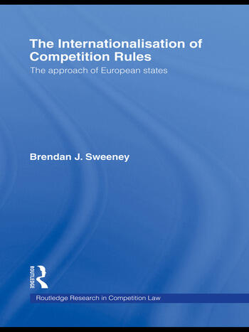 The Internationalisation of Competition Rules book cover