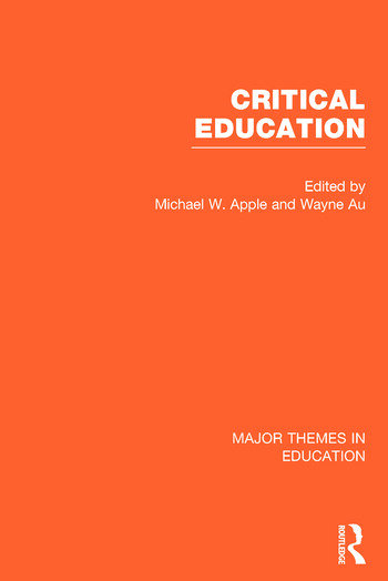 Critical Education book cover