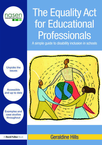 The Equality Act for Educational Professionals A simple guide to disability inclusion in schools book cover
