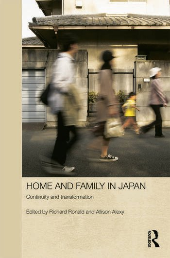 Home and Family in Japan Continuity and Transformation book cover