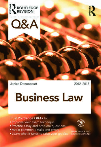 Q&A Business Law book cover